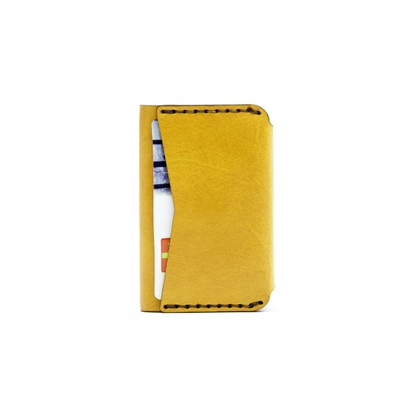 Double Card Holder Yellow