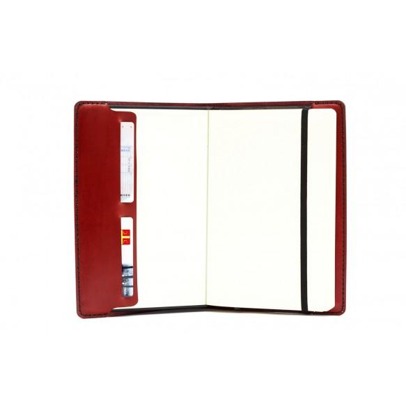 Large Notebook  Bordeaux
