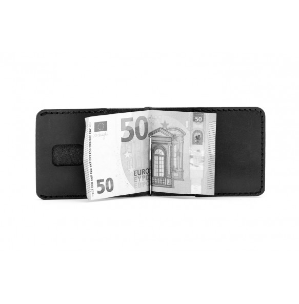 Men Spring Money Clip Wallet Green