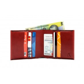 Men Classic IOAN Wallet Bordeaux