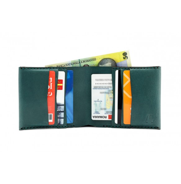 Men Classic IOAN Wallet Green