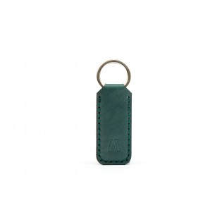 Wide Keychain Green