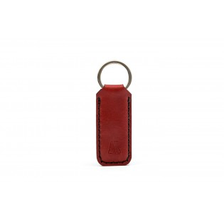 Wide Keychain Bordeaux