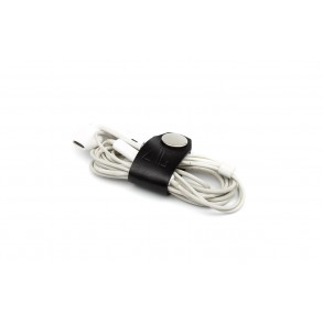 Set of 2 Cable/Headphone Holders Black