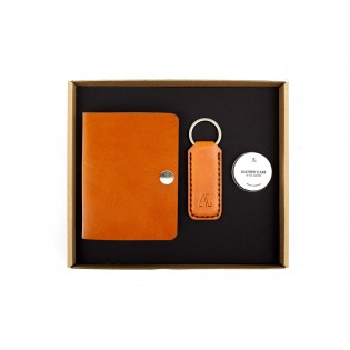 Smart ID Wallet/Wide Keychain Set