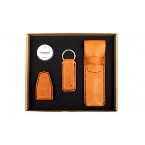 Pen Case/Magnetic Money Clip/Wide Keychain Set