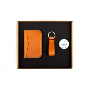 Double Card Holder/Keychain Set
