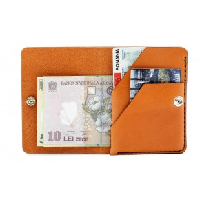 Smart ID Wallet Brown