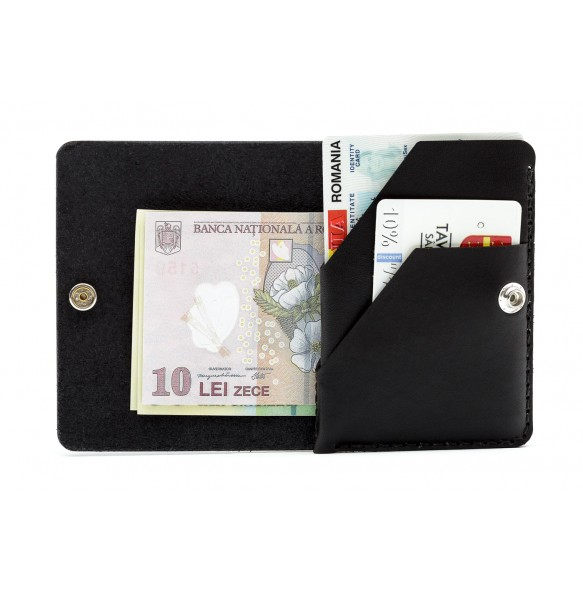 Smart ID Wallet Black