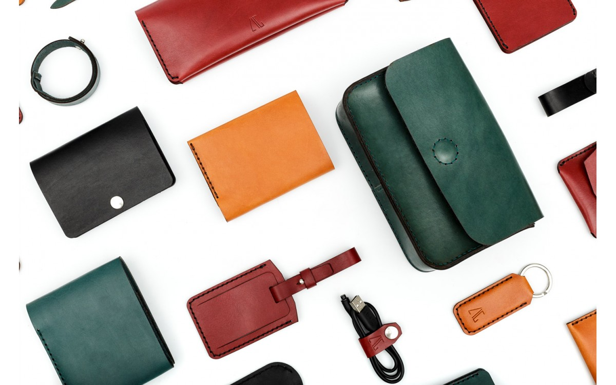Natural leather - this is how the most beloved accessories come to life