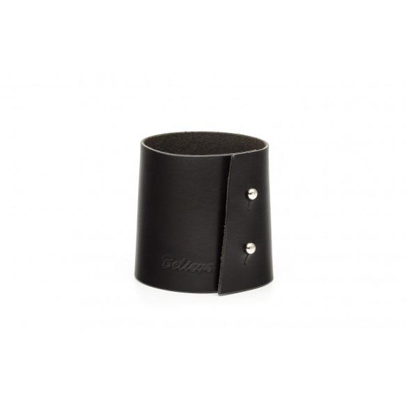 Wide Bracelet Black