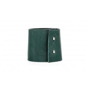 Wide Bracelet Green