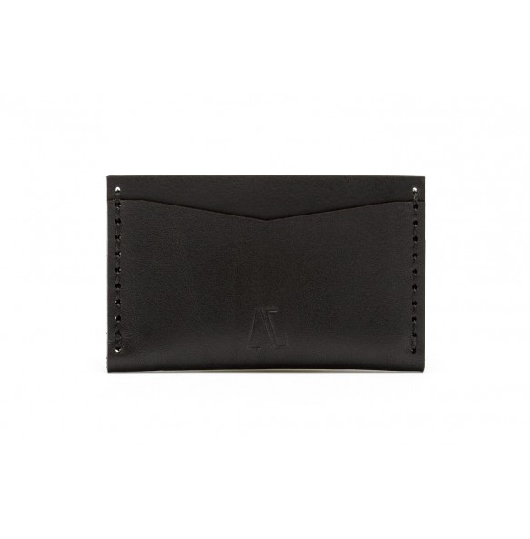 Double Card Holder Black