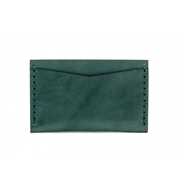 Double Card Holder Green