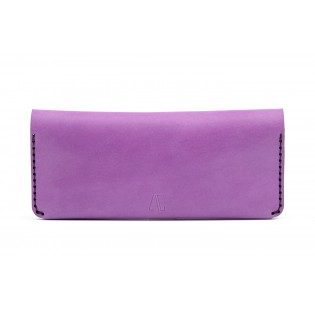 Women Double Long Wallet Purple