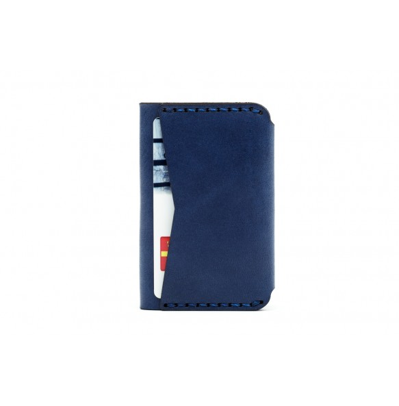 Double Card Holder Blue