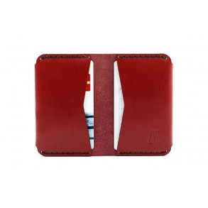 Double Card Holder Bordeaux