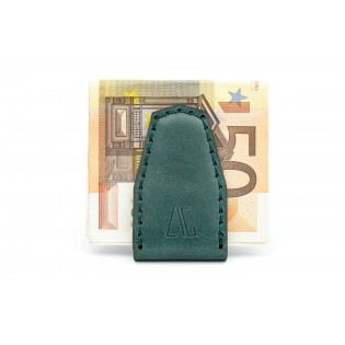 Magnetic Money Clip Green