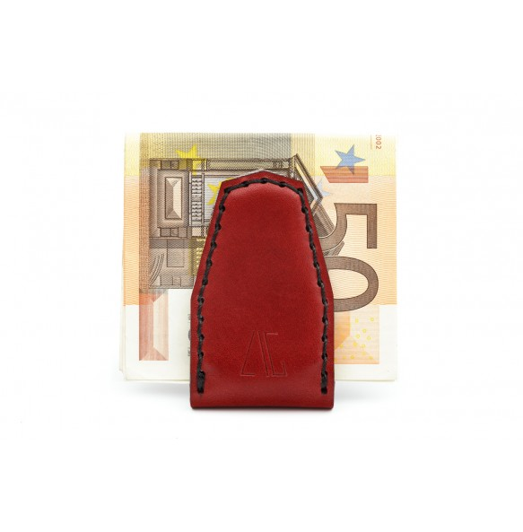 Magnetic Money Clip Bordeaux