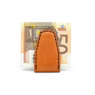 Magnetic Money Clip Brown