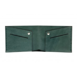 Men Classic Wallet Green