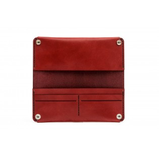 Women Long Wallet Bordeaux