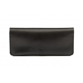 Women Long Wallet Black
