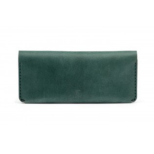 Women Long Wallet Green