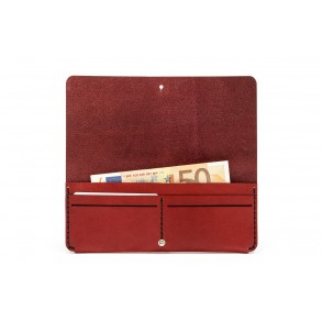 Women Clutch Wallet Bordeaux