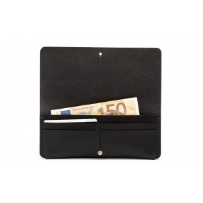 Women Clutch Wallet Black