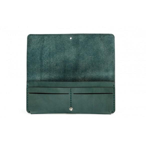 Women Clutch Wallet Green