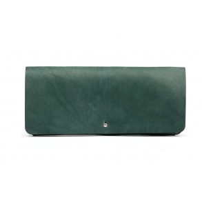 Women Clutch Wallet Green