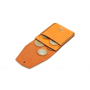 Coin Wallet Brown