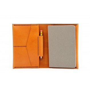 Passport/Notebook Wallet Brown