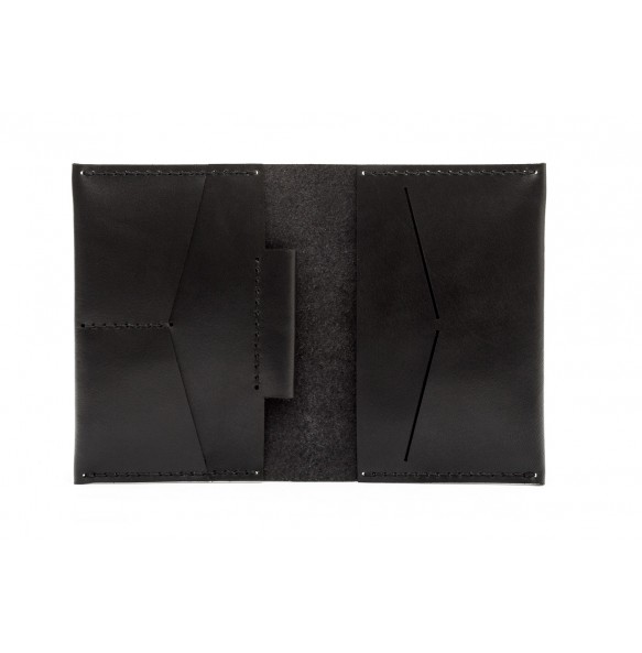 Passport/Notebook Wallet Black