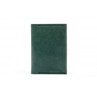 Passport/Notebook Wallet Green