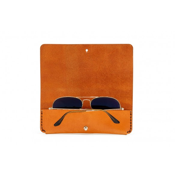 Sunglasses Case Brown