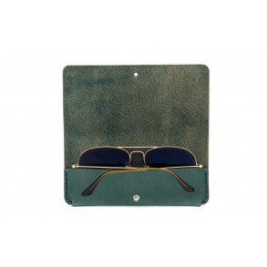 Sunglasses Case Green