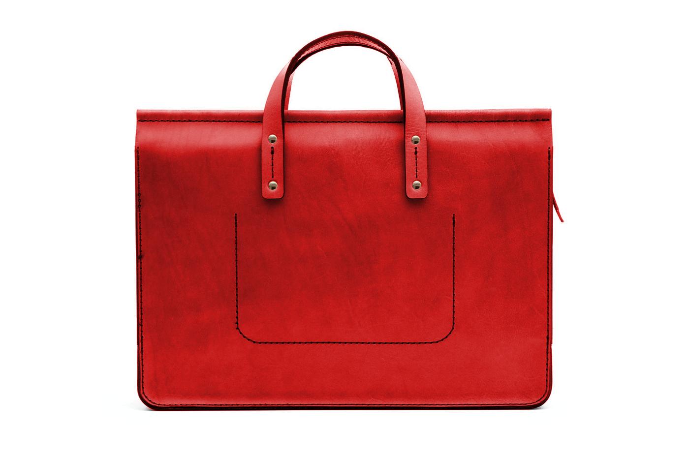 bordeaux leather office bag
